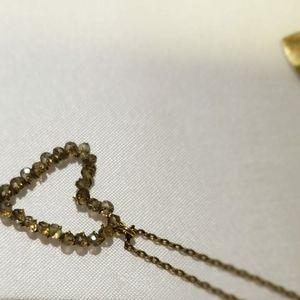 Mercedes Salazar Heart necklace